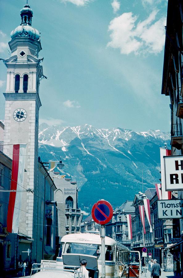 Innsbruck Photograph - Innsbruck Austria 2 1962 by Cumberland Warden