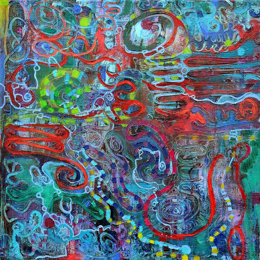 Mesh Painting - IPN by Regina Valluzzi