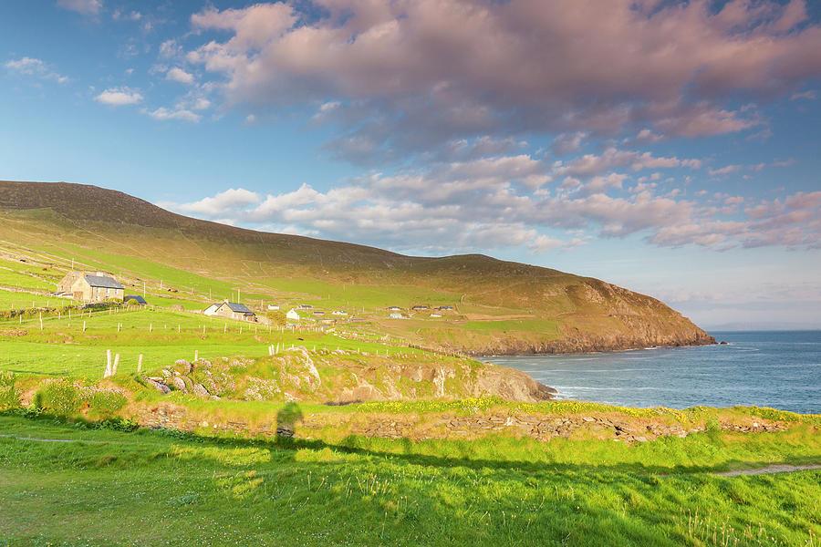 County Kerry Photograph - Ireland, County Kerry Slea Head Drive by Walter Bibikow