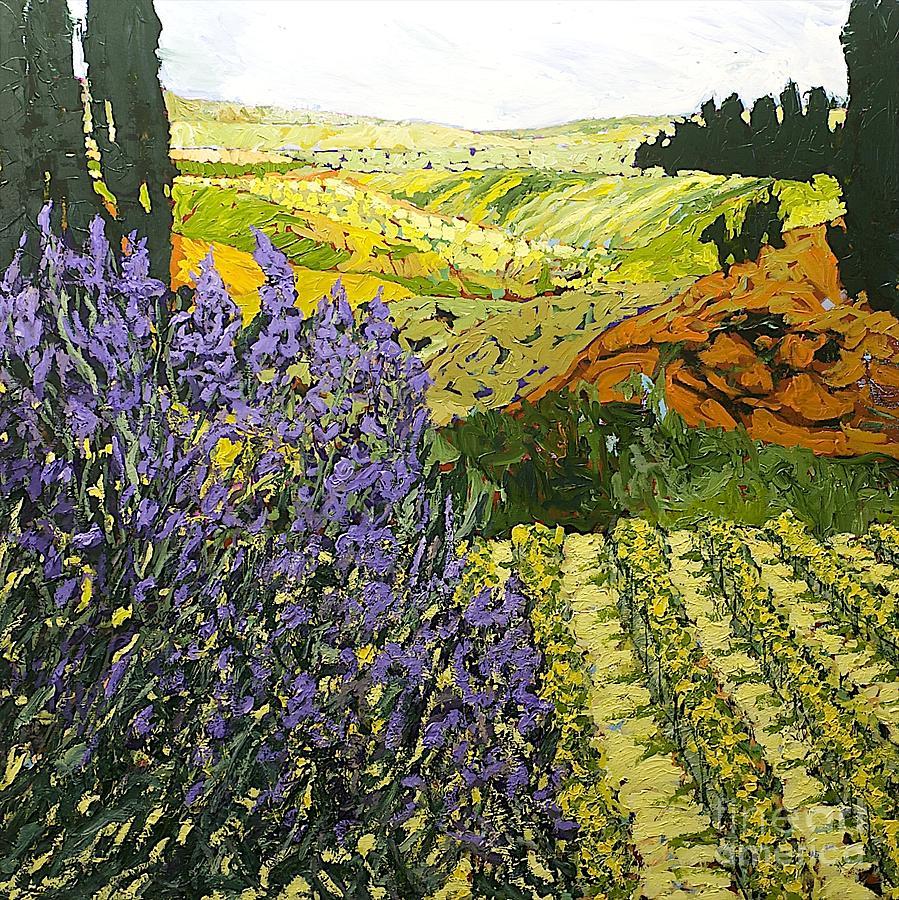Landscape Painting - It Is Magic by Allan P Friedlander
