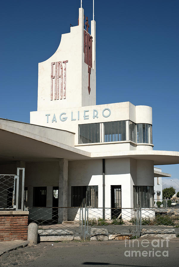 Italian colonial art deco architecture in asmara eritrea for Architecture art deco