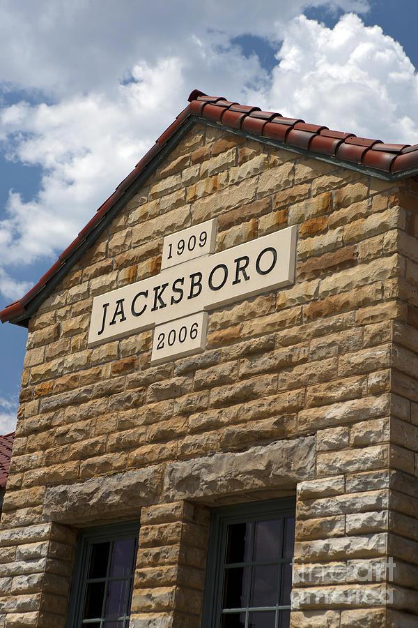 Jacksboro Photograph - Jacksboro Texas by Jason O Watson