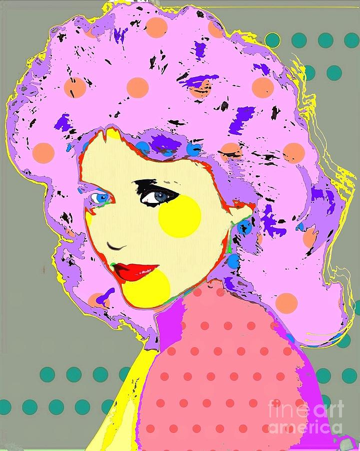 Jane Fonda Digital Art - Jane Fonda by Ricky Sencion
