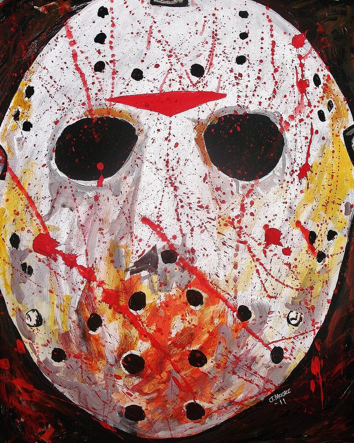 Jason Painting by Jeremy Moore