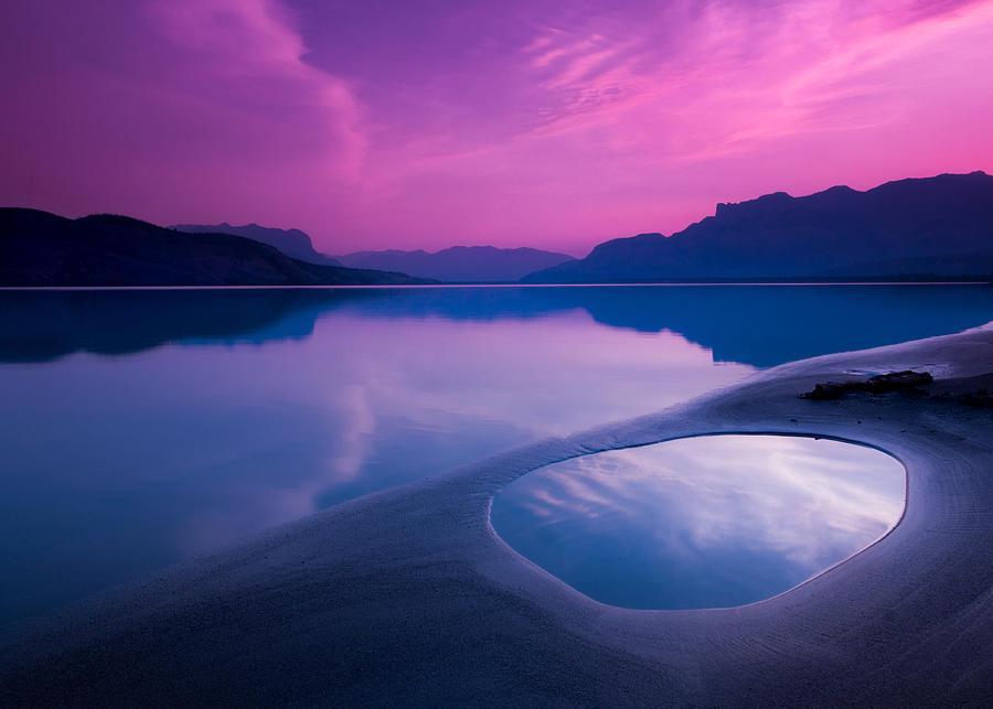 Jasper Lake Sunrise Photograph