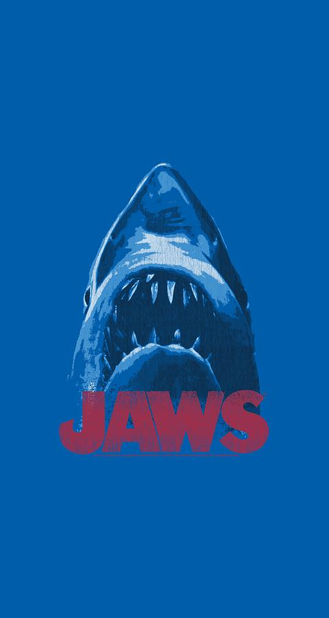 Jaws Digital Art - Jaws - From Below by Brand A