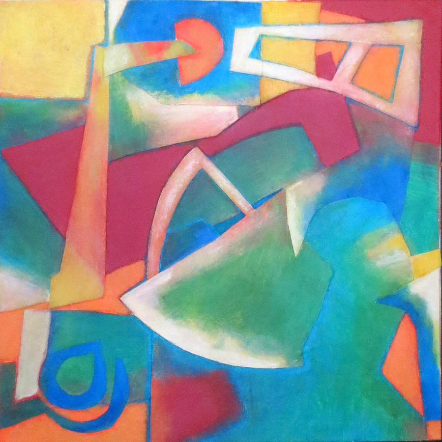 Abstract Expressionism Mixed Media - Jazz by Diane Fine