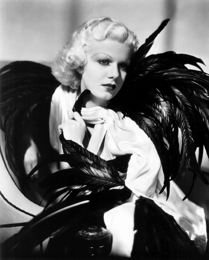 Jean Harlow, Ca. 1934-35 Photograph By Everett