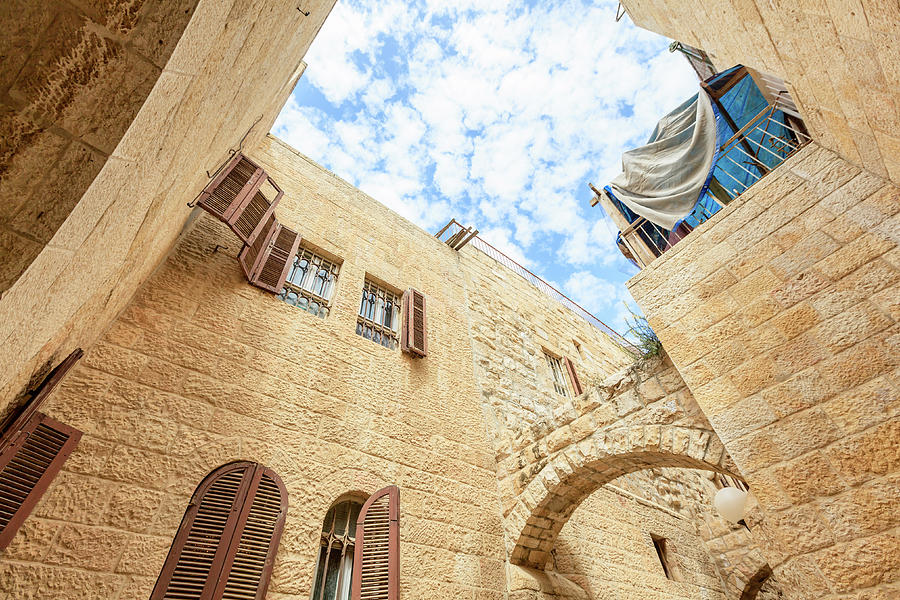 Jerusalem, Old Town Photograph by Fredfroese