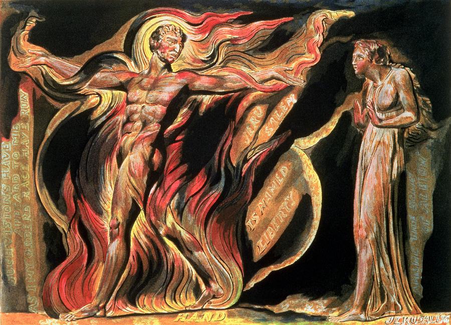 William Blake Paintings Images