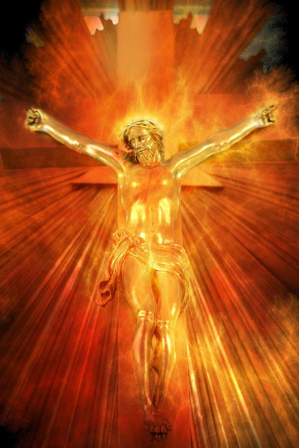 Bible Photograph - Jesus Christ  by Tommytechno Sweden
