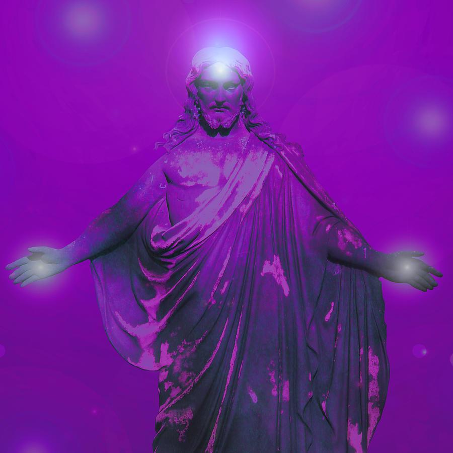 Catholic Spirituality Digital Art - Jesus by Ramon Labusch