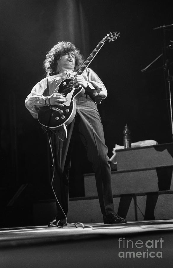 Guitarist Photograph - Jimmy Page by Concert Photos