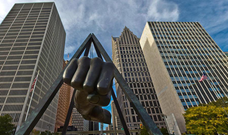 Detroit Photograph - Joe Louis Fist In Detroit  by John McGraw