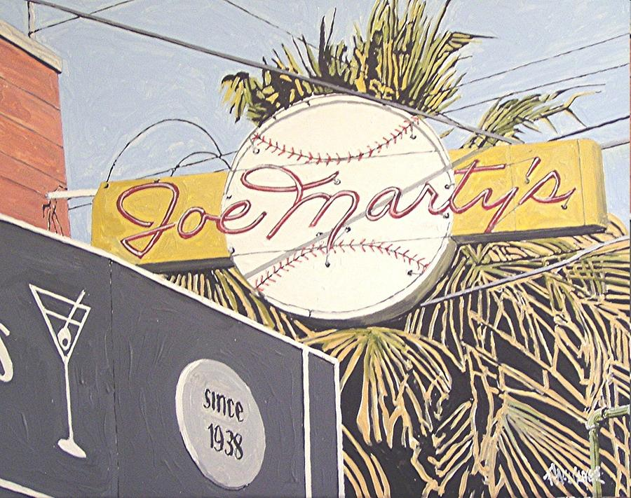 Sacramento Painting - Joe Martys by Paul Guyer