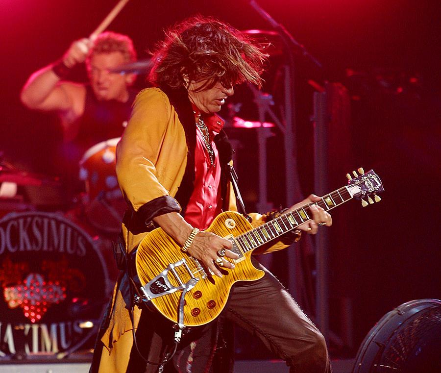 Rock And Roll Art Photograph - Joe Perry Aerosmith by Don Olea