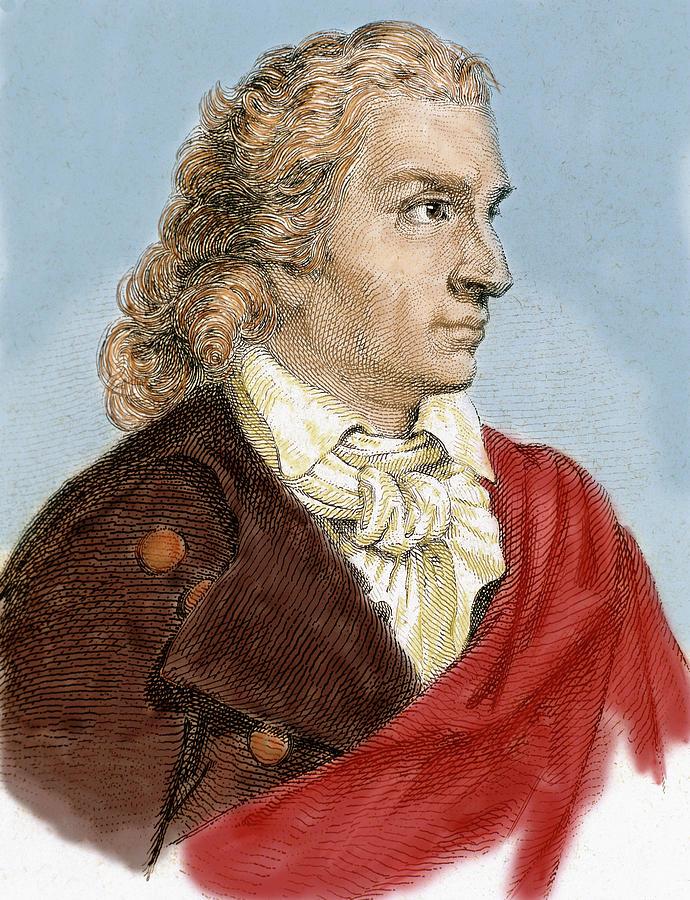 Johann Christoph Friedrich Von Schiller Photograph by Prisma ...