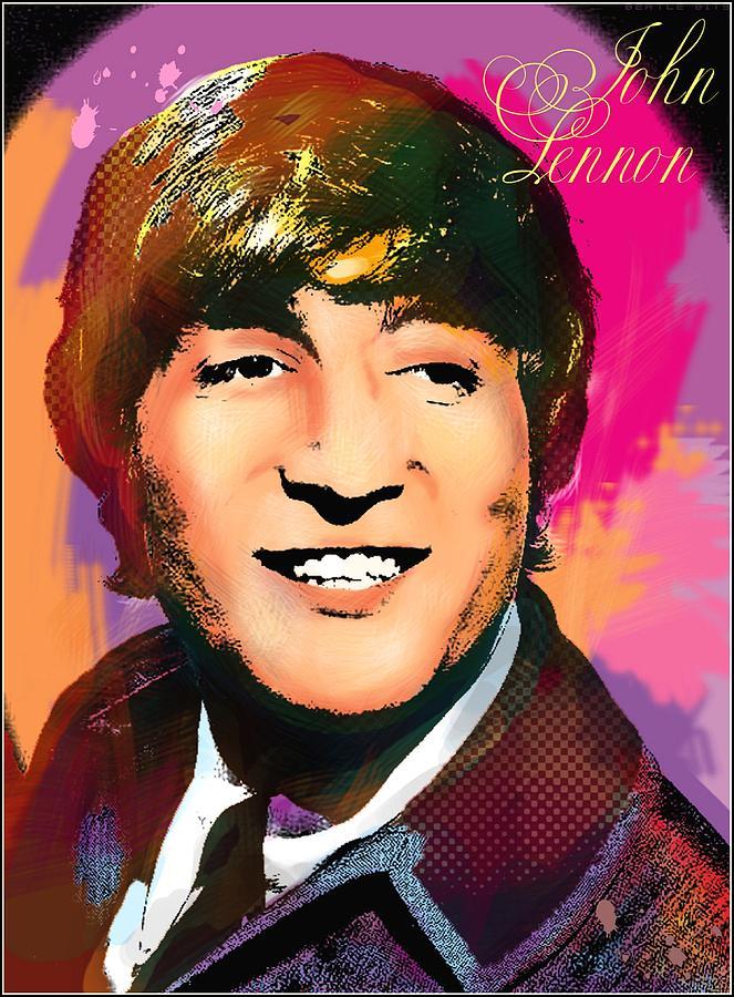 John Lennon Photograph - John Lennon  by Vitaliy Shcherbak