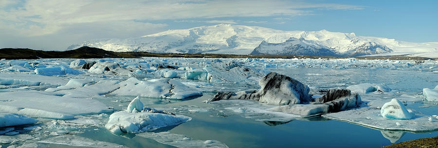 Jokulsarlon Glacier Lagoon Photograph by Travelpix Ltd