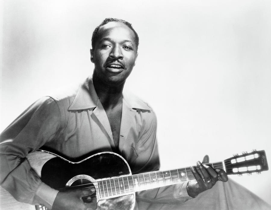 1949 Photograph - Josh White (1914-1969) by Granger