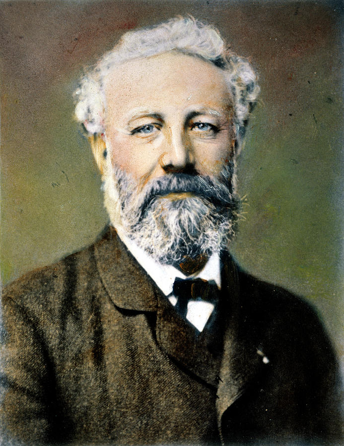 19th Century Photograph - Jules Verne (1828-1905) by Granger