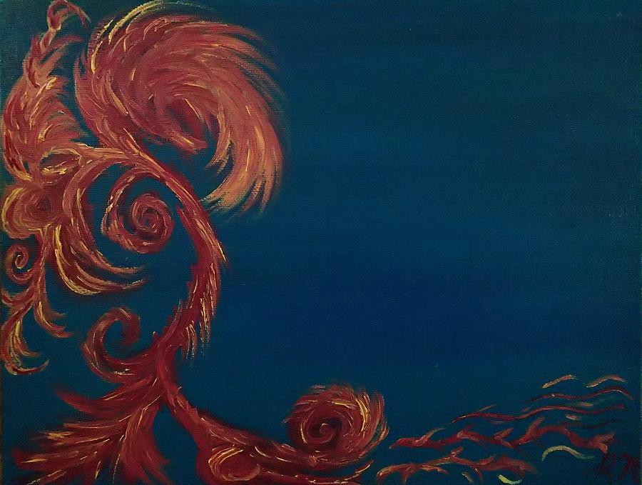 Jumbie Painting - Jumbie Under De Ocean by Robert Nickologianis