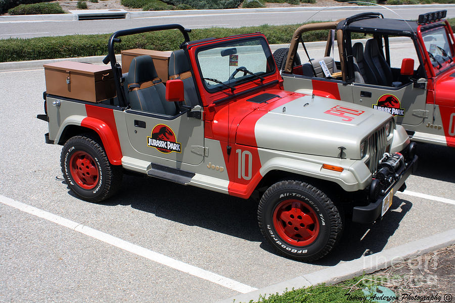 jurassic park jeeps photograph by tommy anderson. Black Bedroom Furniture Sets. Home Design Ideas