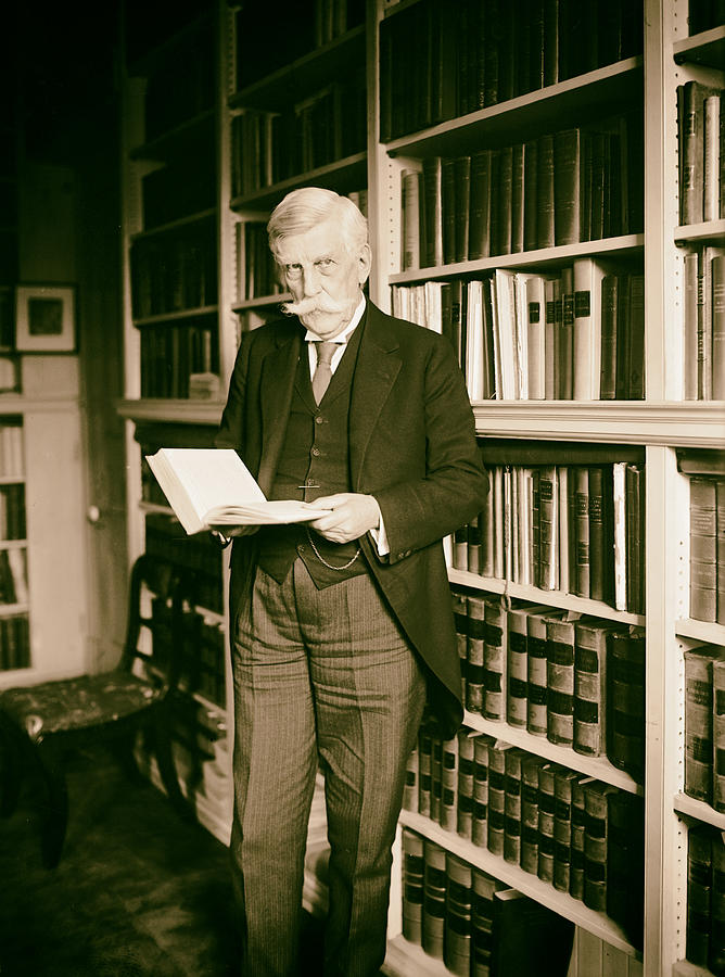 1924 Photograph - Justice Oliver Wendell Holmes 1924 by Mountain Dreams