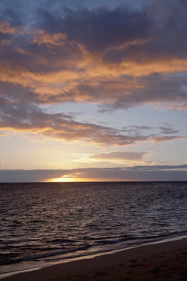 Amazing Photograph - Kailua Sunset by Brandon Tabiolo