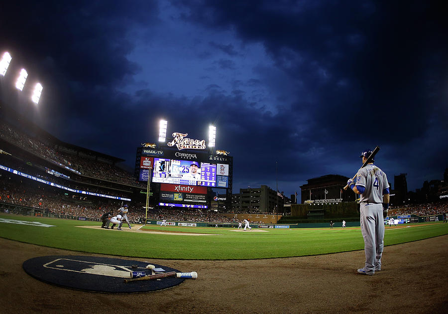 Kansas City Royals V Detroit Tigers Photograph by Gregory Shamus