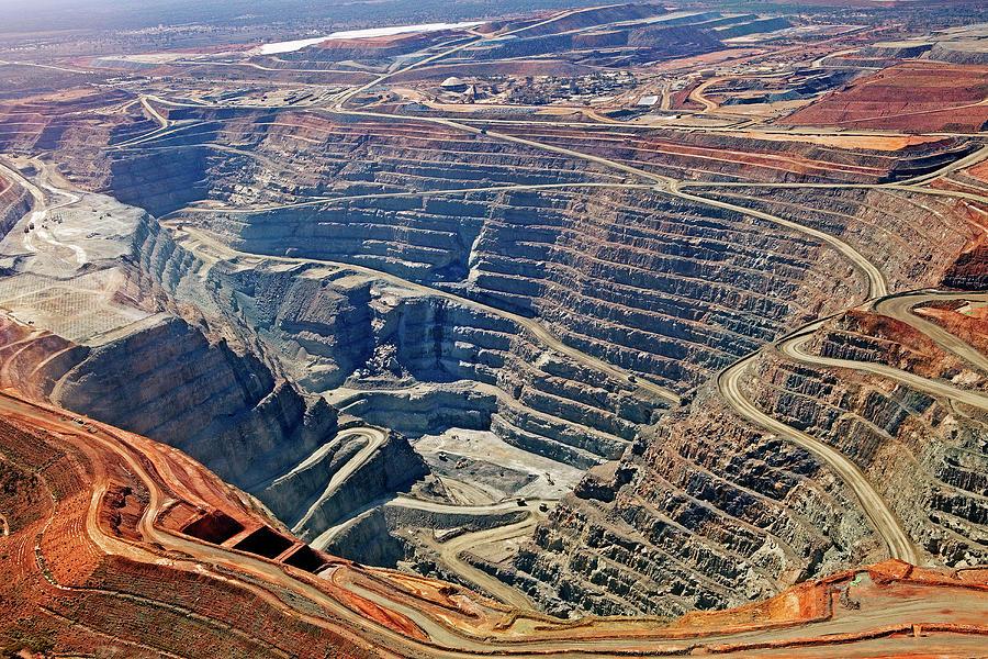 Kcgm. Gold Mine,western Australia Photograph by John W Banagan