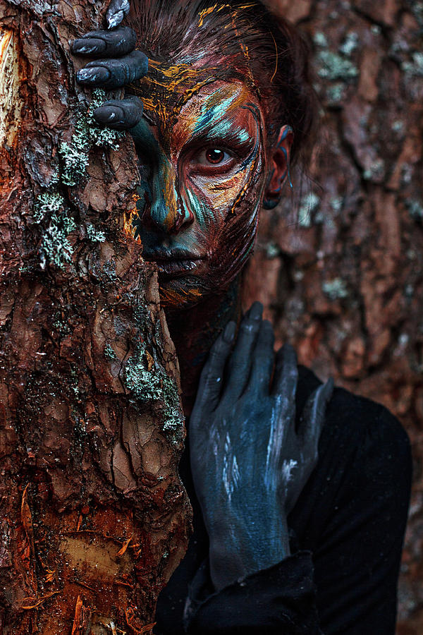 People Photograph - Keeper Of The Wood by Ivan Kovalev