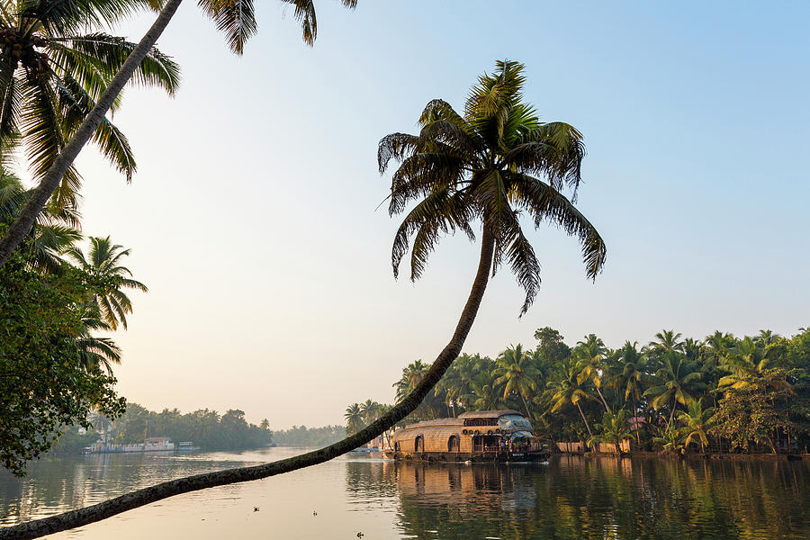 Alappuzha Photograph - Kerala Backwaters Near Alleppey by Peter Adams