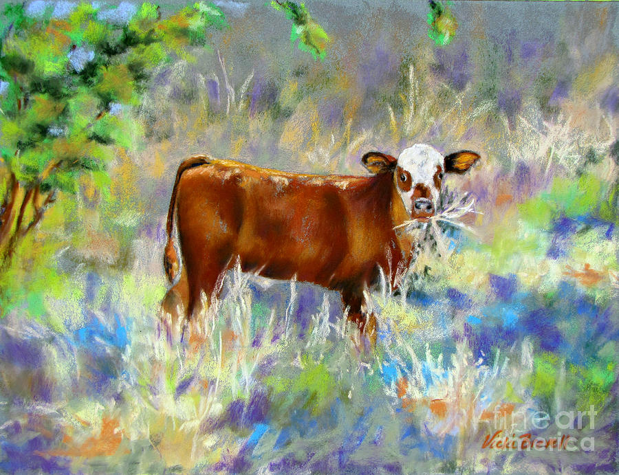 Knee High In Happiness by Vicki Brevell