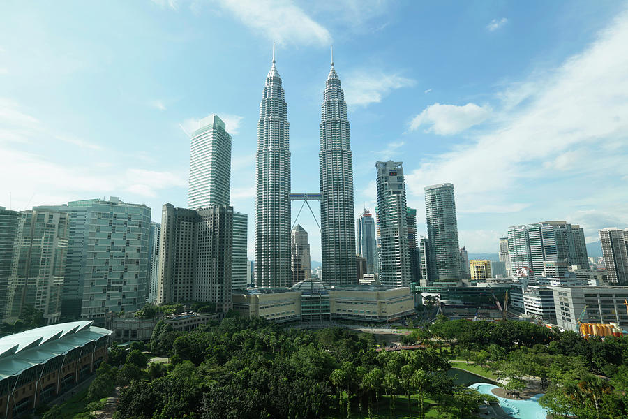 Kuala Lumpur Cityscape With Petronas Photograph by Eternity In An Instant