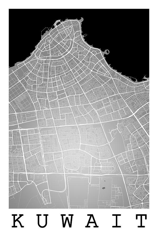 Kuwait City Street Map - Kuwait City Kuwait Road Map Art On Colo by on kuwait roads, kuwait attractions, avenues mall kuwait map, kuwait highway map, kuwait map google, kuwait asia map, rood's kuwait map, kuwait country map, kuwait aerial view, kuwait europe map, kuwait state map, kuwait world map, kuwait airport, kuwait route map, kuwait geography, kuwait street restaurants, kuwait landmark map, kuwait topographic map, kuwait history, kuwait municipality map,