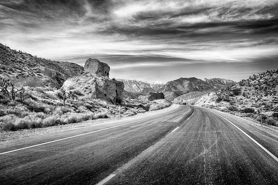 Nature Photograph - Kyle Canyon Road by Howard Salmon