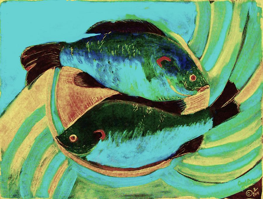 Lake Martin  Fish by Carol Oufnac Mahan