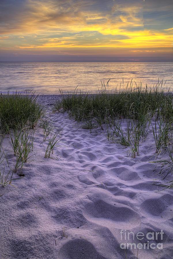 Lake Photograph - Lake Michigan Sunset by Twenty Two North Photography