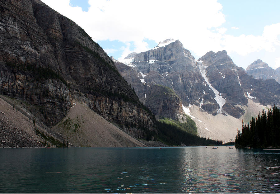 Lake Moraine Photograph by Carolyn Ardolino
