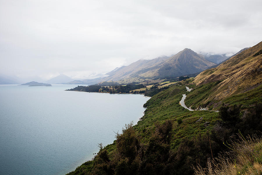Lake Wakatipu Photograph by Claire Takacs