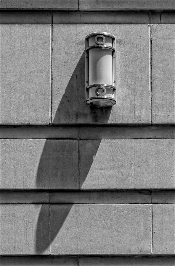 Lamp Photograph - Lamp And Shadow by Robert Ullmann