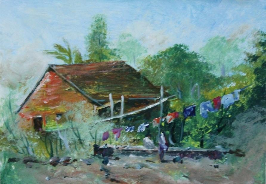 Paintings Painting - Landscape 7686 by Sir