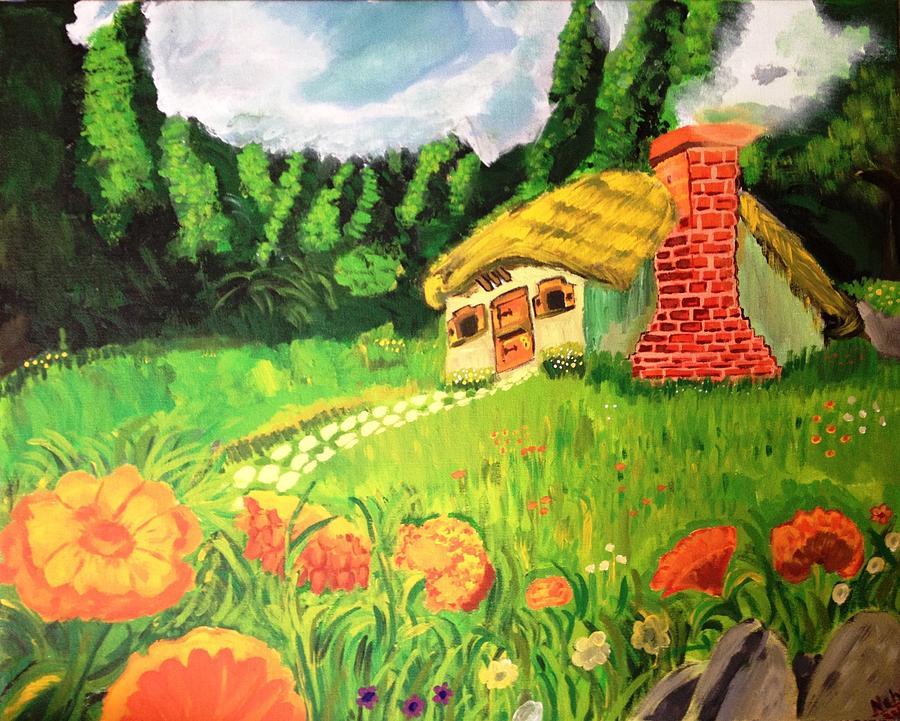 Landscape Painting - Landscape by Neha  Shah