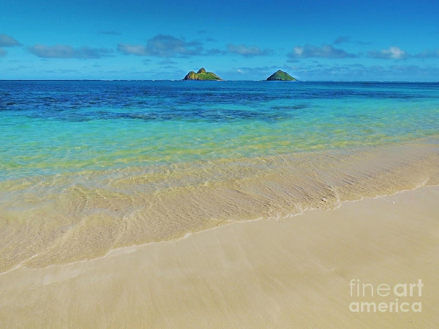 Lanikai Paradise Photograph