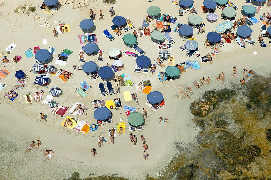 Baleares Photograph - Las Salinas Beach, Ibiza by Xavier Durán