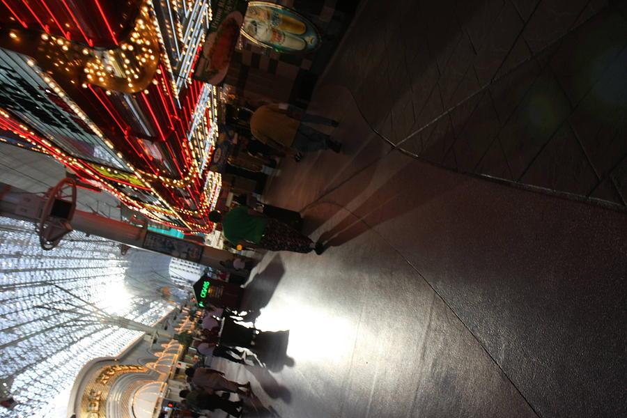 Las Photograph - Las Vegas - Fremont Street Experience - 121210 by DC Photographer