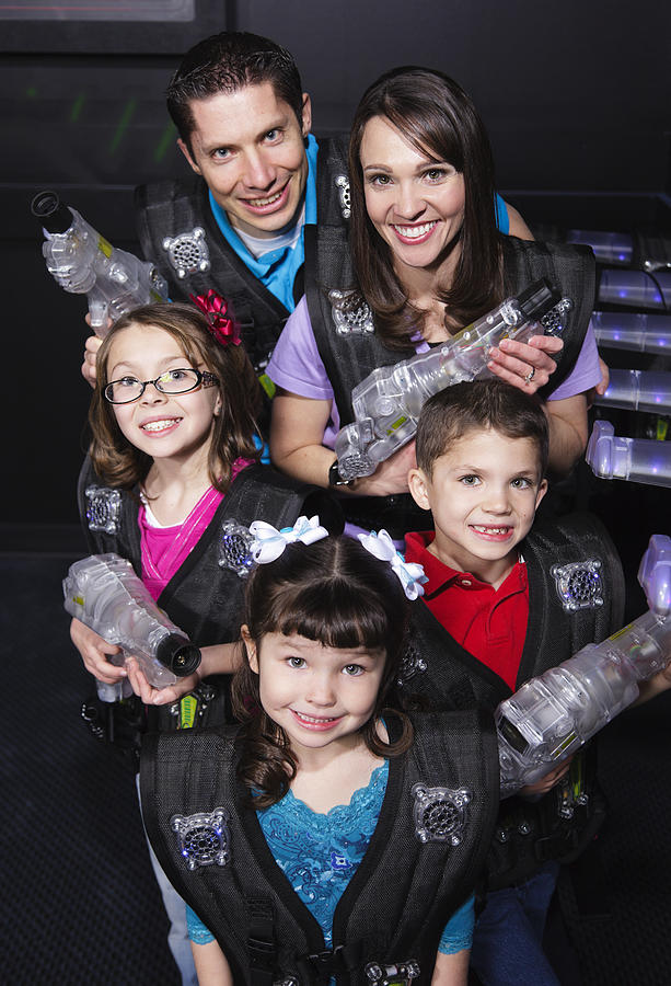 Laser Tag Photograph by RichLegg