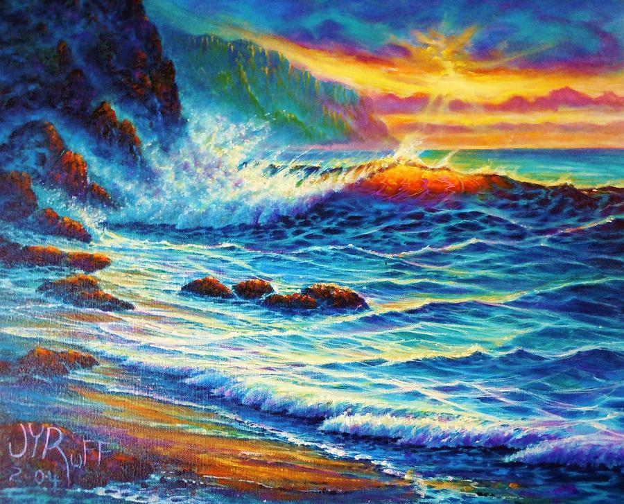 Last Light  Painting by Joseph   Ruff