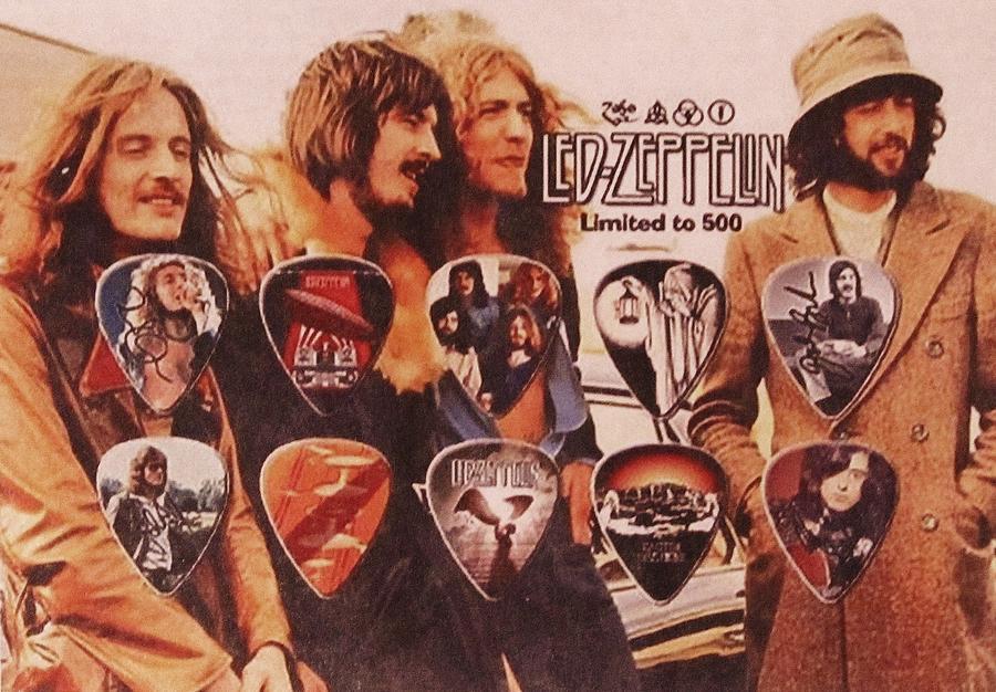 Led Zeppelin Photograph - Led Zeppelin Art by Donna Wilson